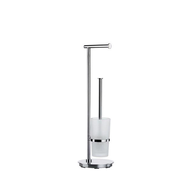 Smedbo Outline Toiletpapirholder/WC-børste Rustfrit stål Rund Fritstående
