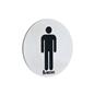 Smedbo Xtra WC-skilt Herre