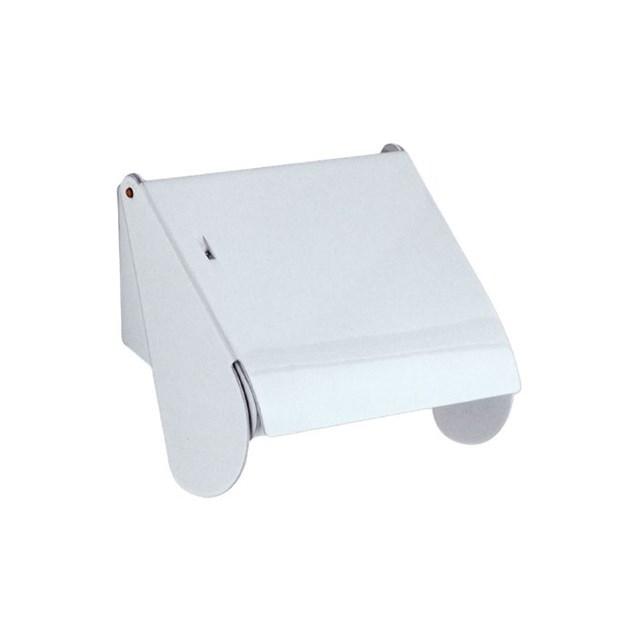 Beslagsboden Toiletpapirholder M Låg B Hvid