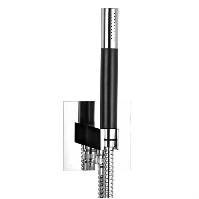 Brusersæt Tapwell BOX 300/300 SQUARE til indbygning KROM