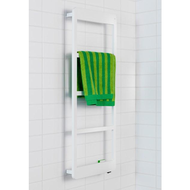 Hafa Lime Håndklædetørrer Hvid