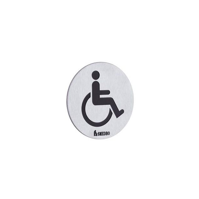Smedbo Xtra Skilt Handicaps skilt