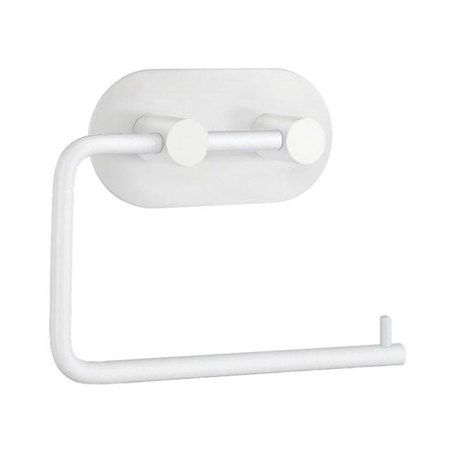 Beslagsboden Design Toiletpapirholder Selvklæbende Hvid