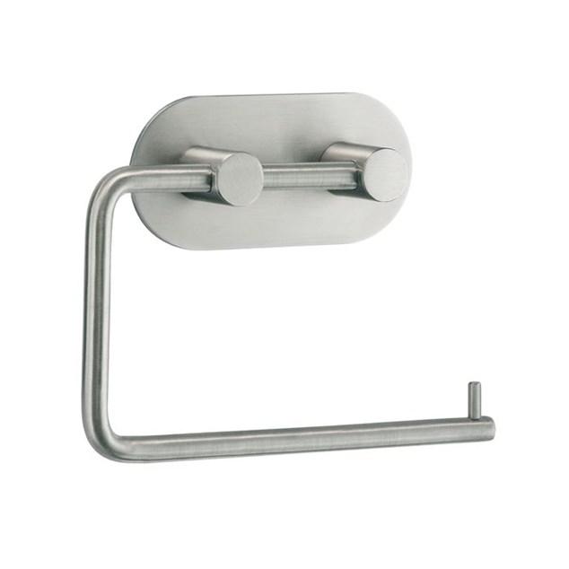 Beslagsboden Design Toiletpapirholder Selvklæbende Mat Rund