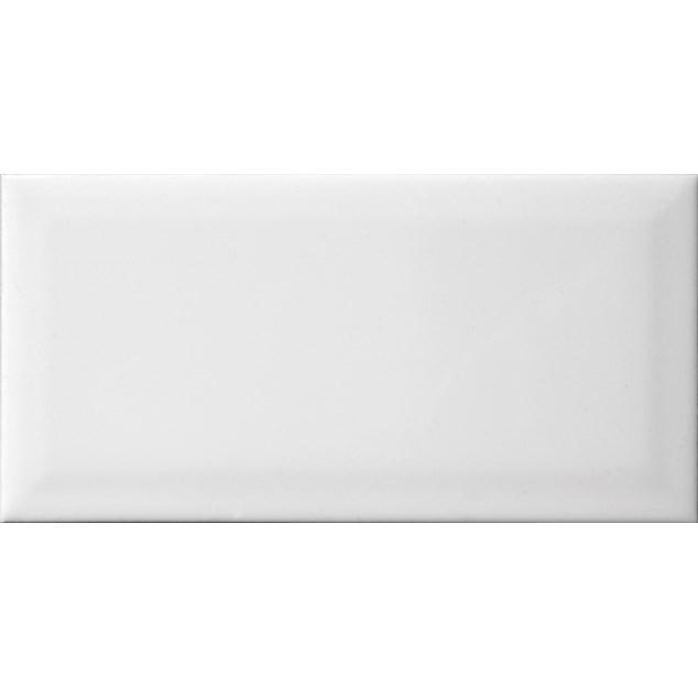 Arredo Metroflise Biselado Hvid Facet-kant - Blank - 100x200 mm