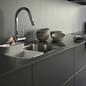 Køkkkenarmatur Tapwell EVO185 Krom med Udtrækstud