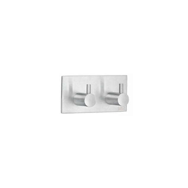 Beslagsboden Design Dobbelt Krog 90X45mm Selvklæbende