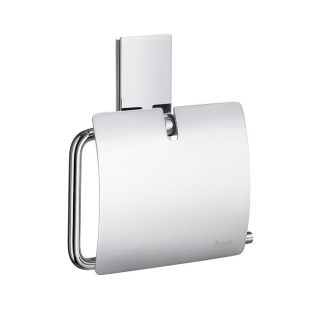 Smedbo Pool Toiletpapirholder med låg Poleret Krom