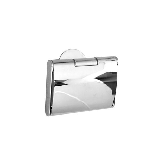 Smedbo Time Toiletpapirholder med Låg Poleret Krom