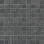 Mosaik Ceramiche Keope Back Anthrazite mosaic 27x27mm, 300x300 mm