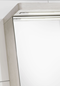 Hafa Sun Spejlskab 600 Hvid Mat