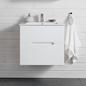 Hafa Sun Skab med Håndvask 600 Hvid Mat