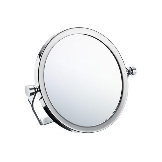 Smedbo Outline Rejsespejl med foldefod 5 g. forstørrelse