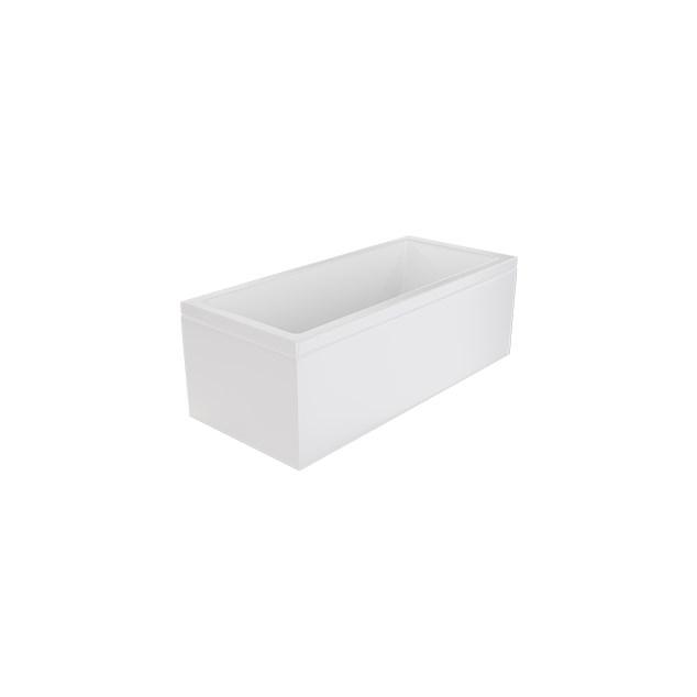 Badekar Nordhem Saltholmen Standardakryl 1500 x 700 mm Hvid