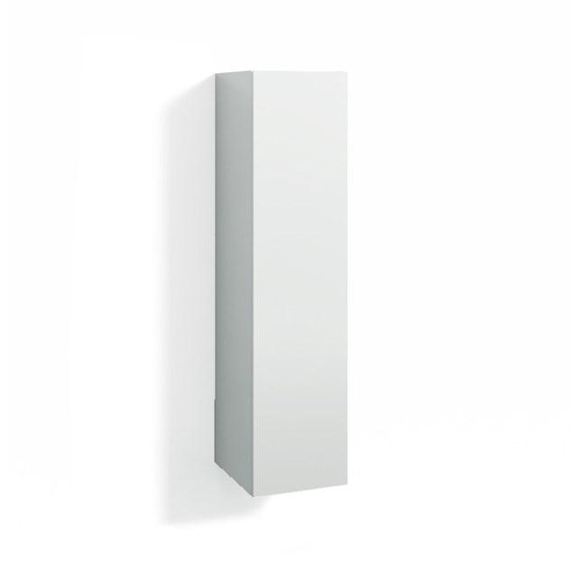 Svedbergs 123x30 Hvid IntGr Greb 6 - Højskab