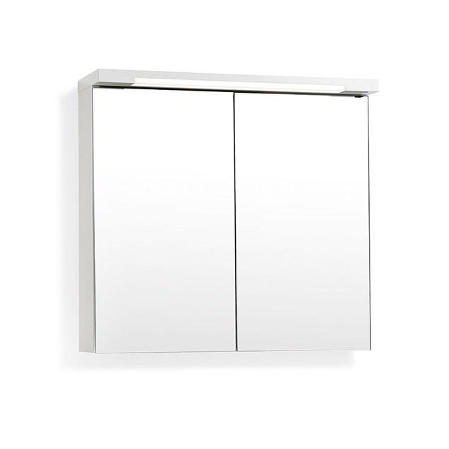 Svedbergs Spejlskab Top-Line 100 Hvid LED