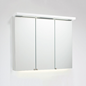 Svedbergs Spejlskab Top-Line 120 Hvid LED