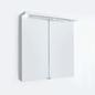 Svedbergs Spejlskab Top-Line 60 Hvid LED med Jordfejlsafbryder