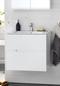Hafa Sun Skab med Håndvask 600 Compact Hvid Mat