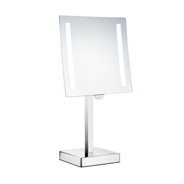 Smedbo Outline Barber/Sminke spejl med belysning 5 gg. forstørrelse