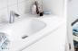 Vedum Underskab Flow 1010 Hvid inkl. Håndvask