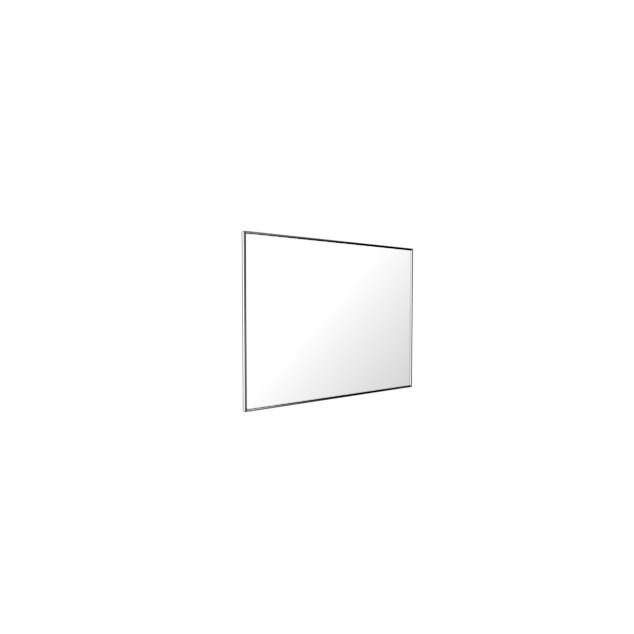 Vedum Spejl Flow med blank aluminiumram 900