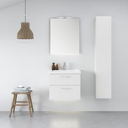 INR Underskab VISKAN Premium White 2st Skuffer