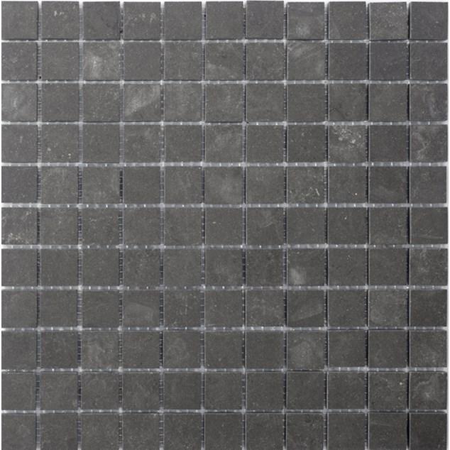 Mosaik Terratinta Archgres Dark Grey 25x25 mm (300x300)