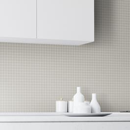 Mosaik Terratinta Archgres Light Grey 25x25 mm (300x300)