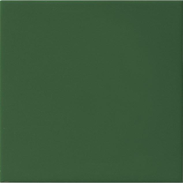 Arredo Vægflise Color Verde Botella Mat 200x200 mm