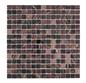 Arredo Glasmosaik Purple/Black/Gold 20x20 mm (325x325)