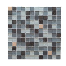 Arredo Krystalmosaik Blank 23x23x8 mm Grey/Silver mix
