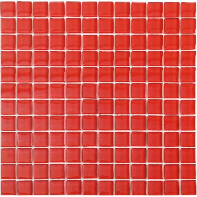 Arredo Krystalmosaik Blank 23x23x8 mm Red