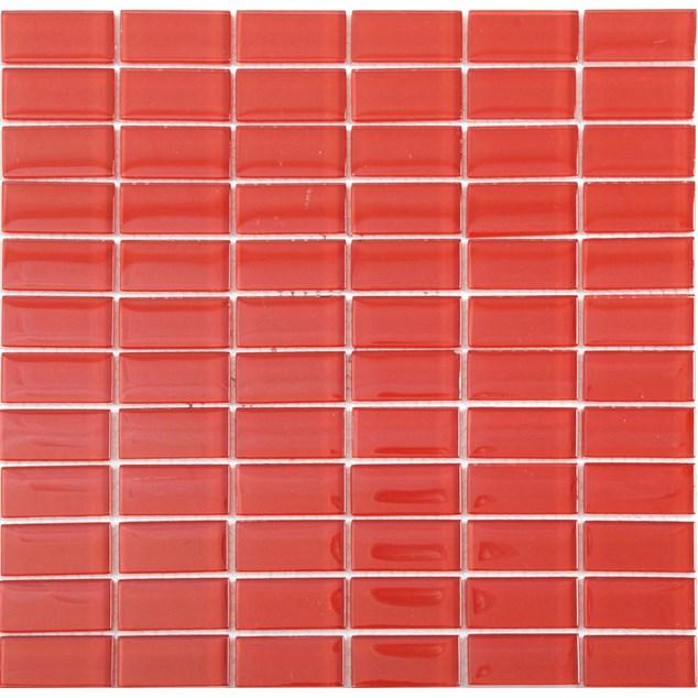 Arredo Krystalmosaik Blank 23x48x8 mm Red
