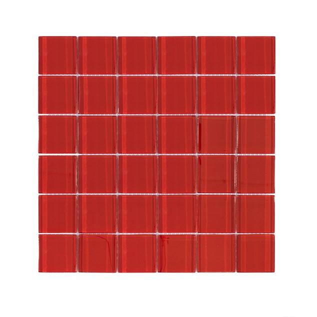 Arredo Krystalmosaik Blank 48x48x8 mm Red