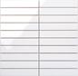 Arredo Vægflise Line Hvid/ret Blank Mosaik 28x148 mm (300x300)