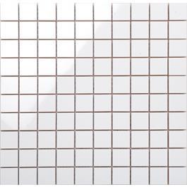 Arredo Vægflise Line Hvid/ret Blank Mosaik 28x28 mm (300x300)
