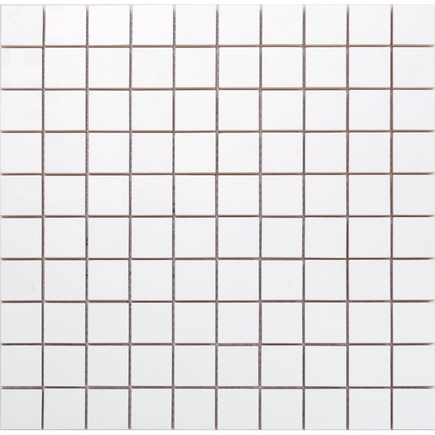 Arredo Vægflise Line Hvid/ret Mat Mosaik 28x28 mm (300x300)
