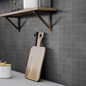 Arredo Klinker Loft Carbone Mosaic 48x48 mm (300x300)