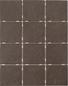 Arredo Klinker Slate Brown 97x97 mm