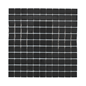 Arredo Klinkermosaik Titan Black Blank 25x25 mm (300x300)