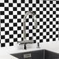 Arredo Klinkermosaik Titan Mix Black/White Blank 48x48 mm (303x303)