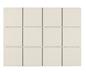 Arredo Klinker Unicolor Ivory 98x98 mm dot