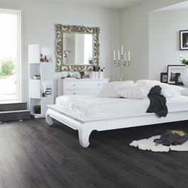 Laminatgulv Pergo Longplank 4V Midnight Oak Planke 1-stav Living Expression