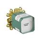 Hansgrohe Axor ShowerCollection Indbygningsdel til hovedbruser 240/240 1jet med bruserbøjning