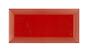 Arredo Metroflise Biselado Rød Facet-kant - Blank - 75x150 mm