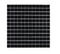 Arredo Krystalmosaik Blank 23x23x8 mm Black