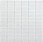 Arredo Krystalmosaik Blank 23x48x8 mm Light Grey