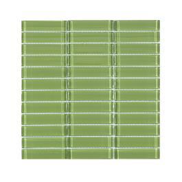 Arredo Krystalmosaik Blank 23x98x8 mm Moss Green