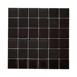 Arredo Krystalmosaik Blank 48x48x8 mm Sort